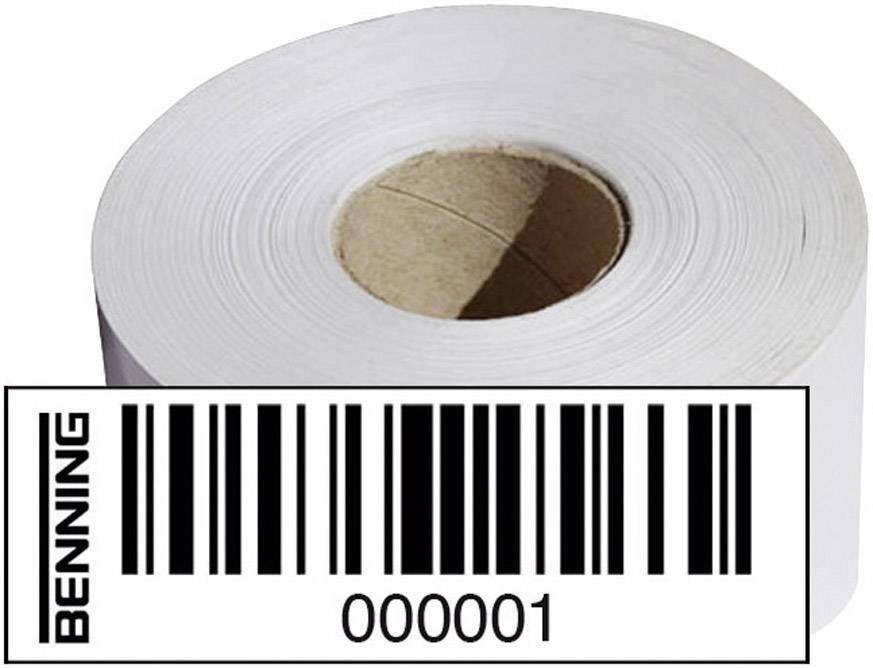 Štítky s čiarovými kódmi Benning pre ST750, Nr. 1001-2000