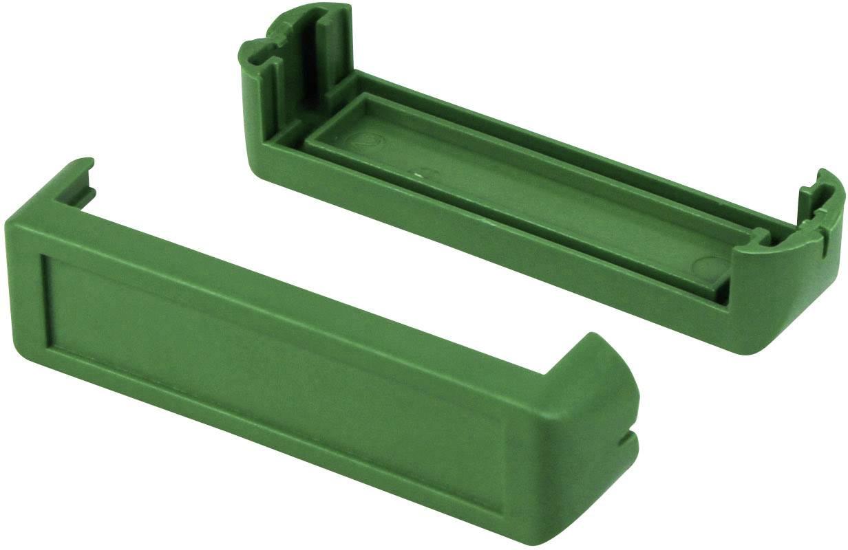 Chrániče rohů skříně Axxatronic CHH64E2GR, plast, zelená, 2 ks
