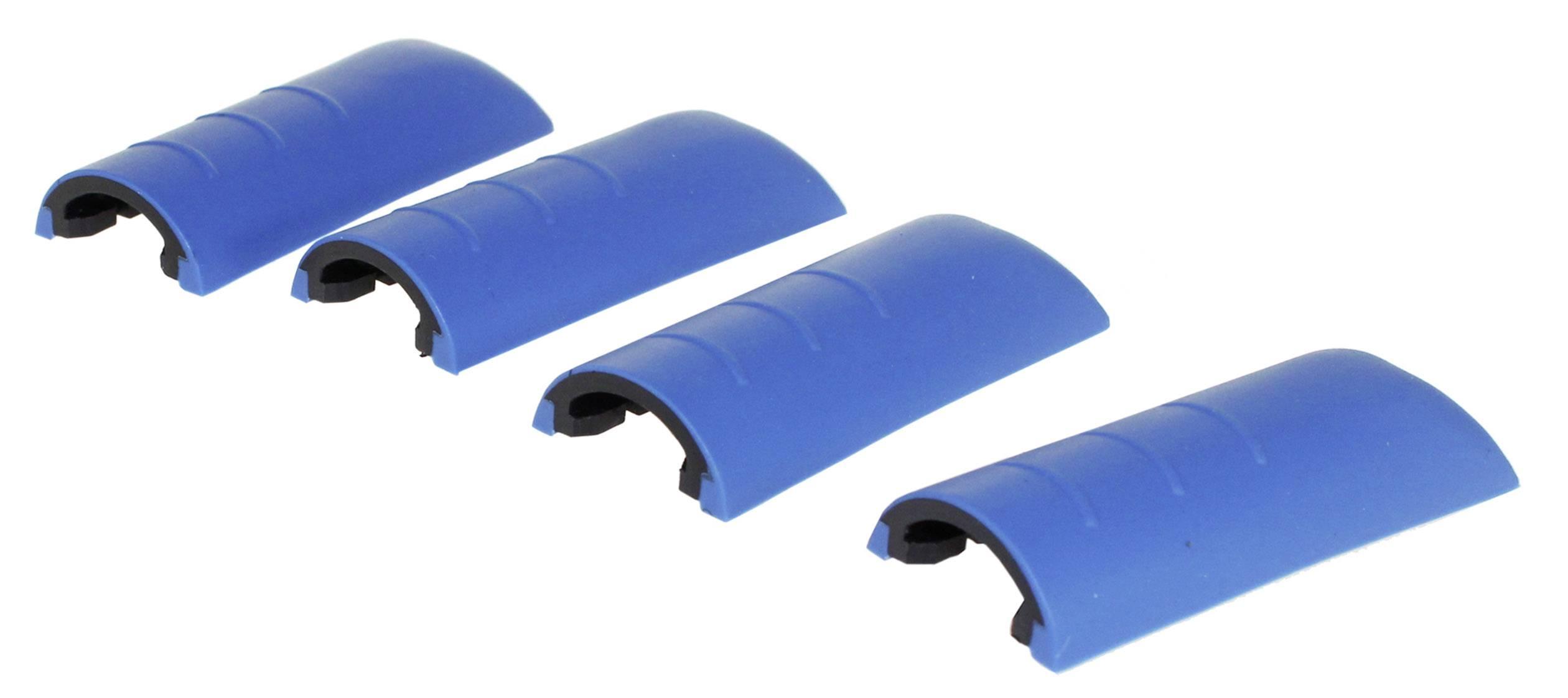 Chrániče rohů skříně Axxatronic CHH66C1BL, plast, modrá, 4 ks