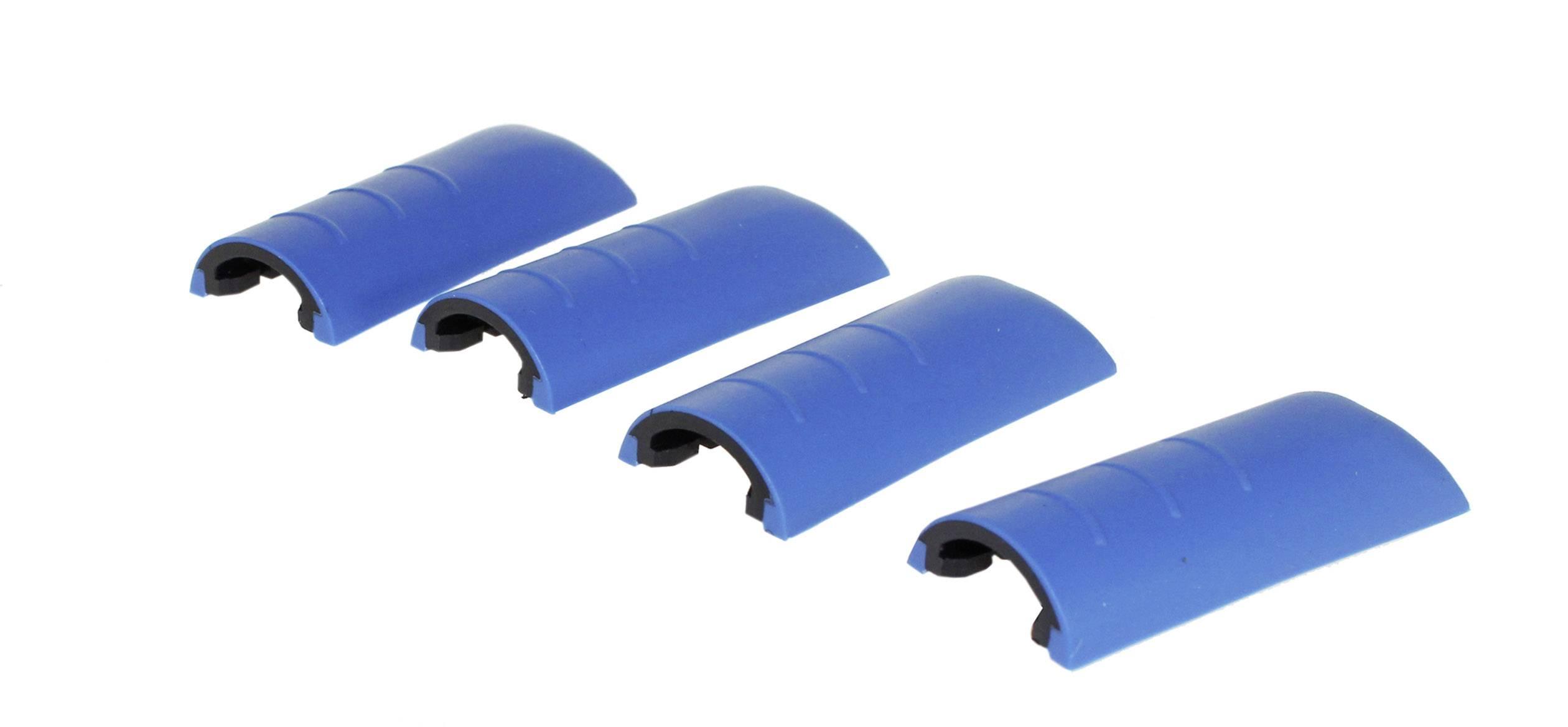 Chrániče rohov skrine Axxatronic CHH66C2BL, umelá hmota, modrá, 4 ks