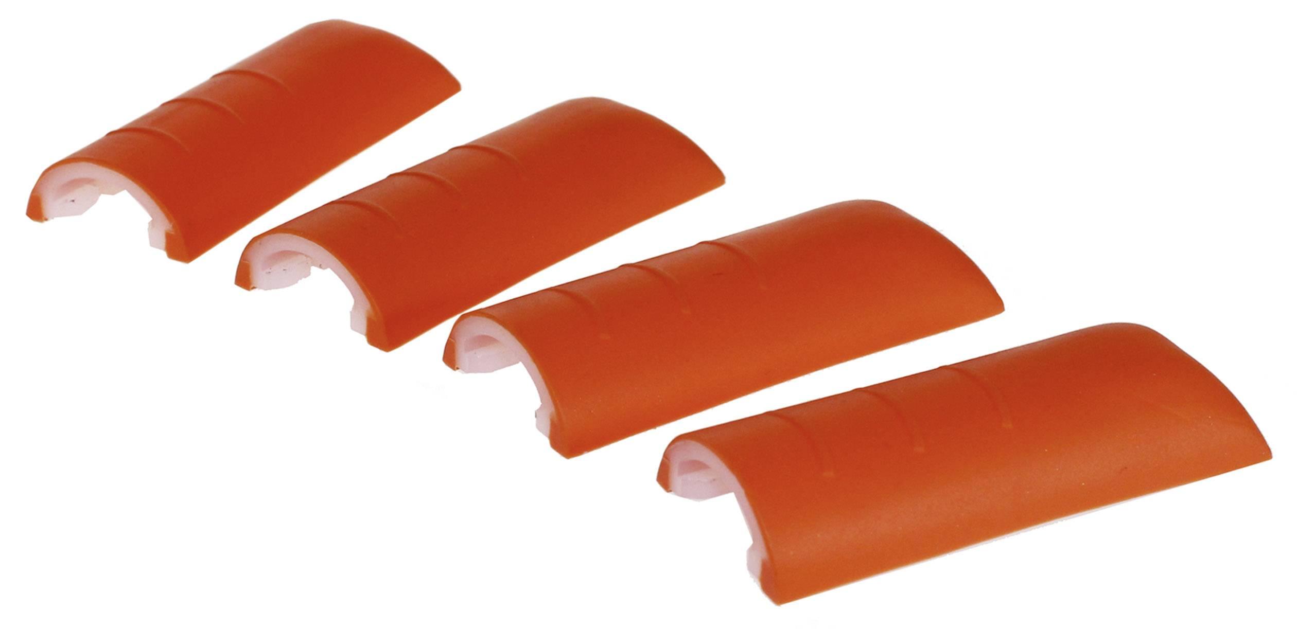 Chrániče rohů skříně Axxatronic CHH66C2RD, plast, červená, 4 ks
