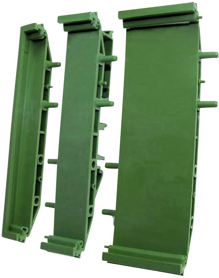 Držák na DPS - koncová část rozšiřitelná Axxatronic CIME/M/SE1125, (d x š) 11.25 mm x 72 mm, 1 ks