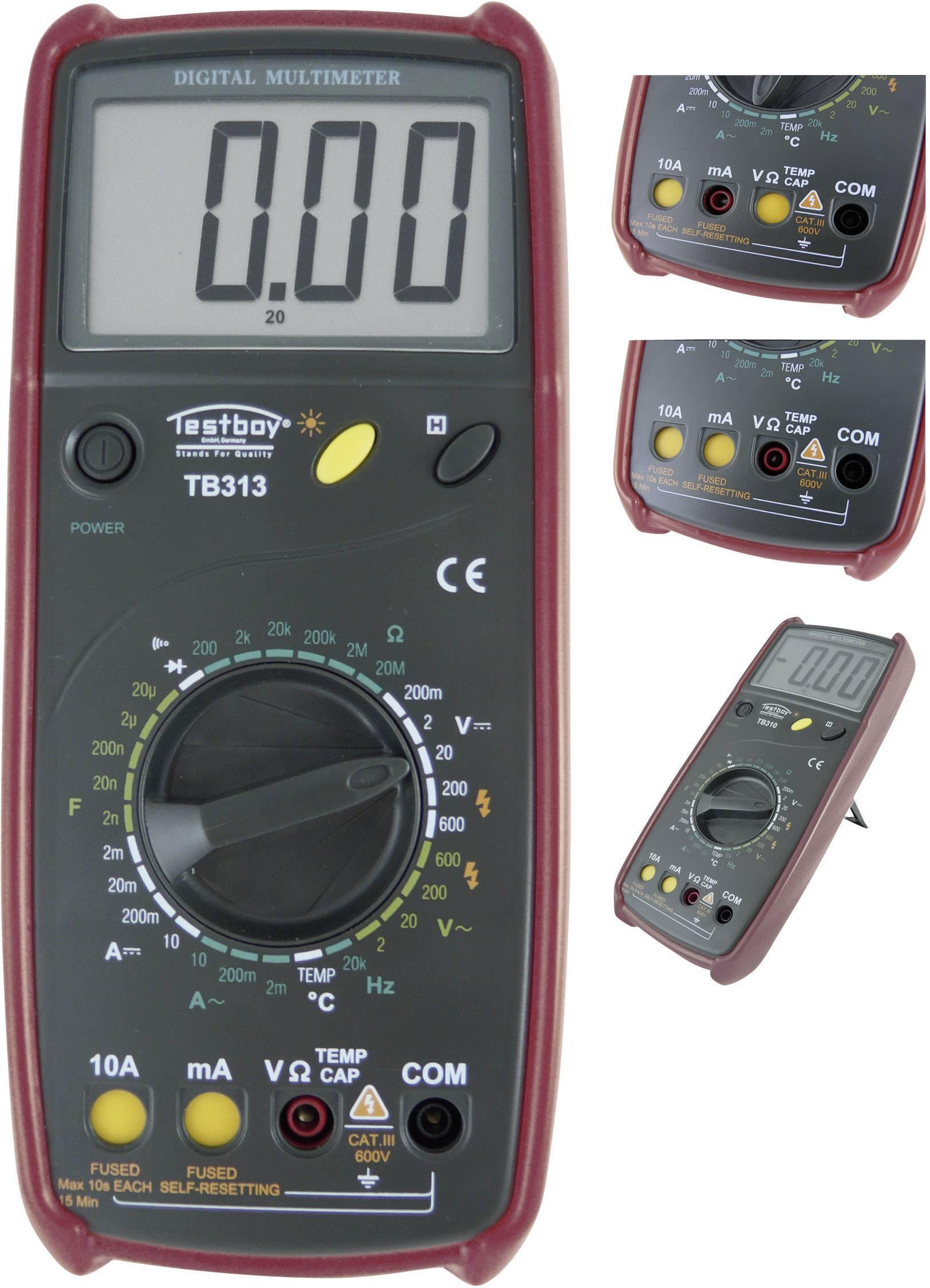 Digitálne/y ručný multimeter Testboy TB 313 TB 313