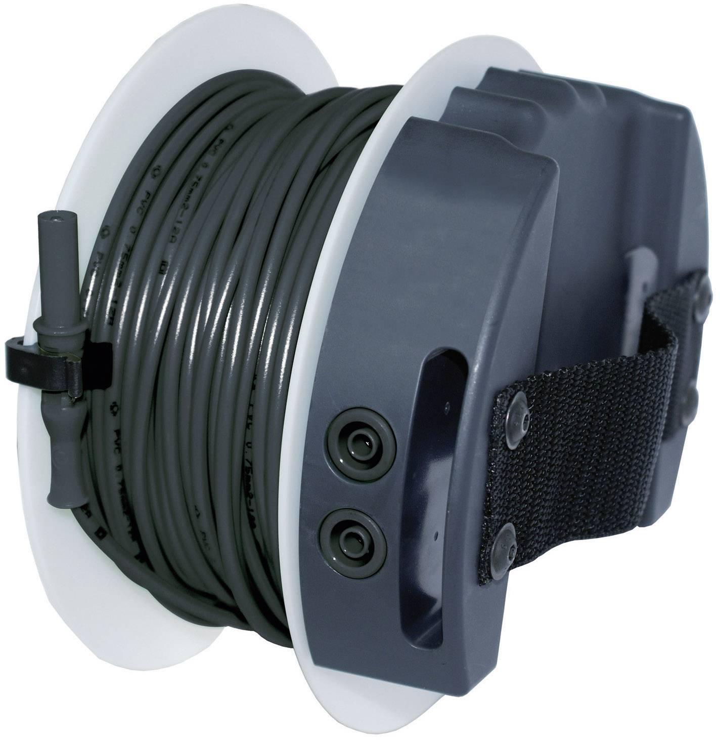 Bezpečnostný merací kábel Benning TA 5, 40 m, čierny