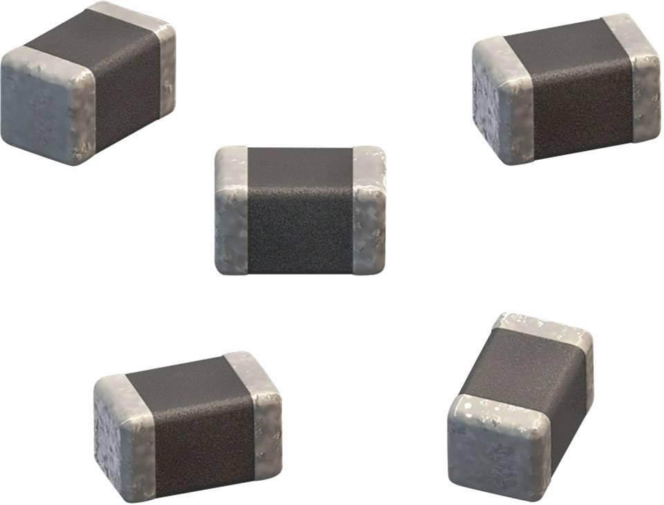 Keramický kondenzátor Würth WCAP-CSGP, 100 pF, 10 V, 5 %, 4.5x3.2x1.25 mm, 885012008004