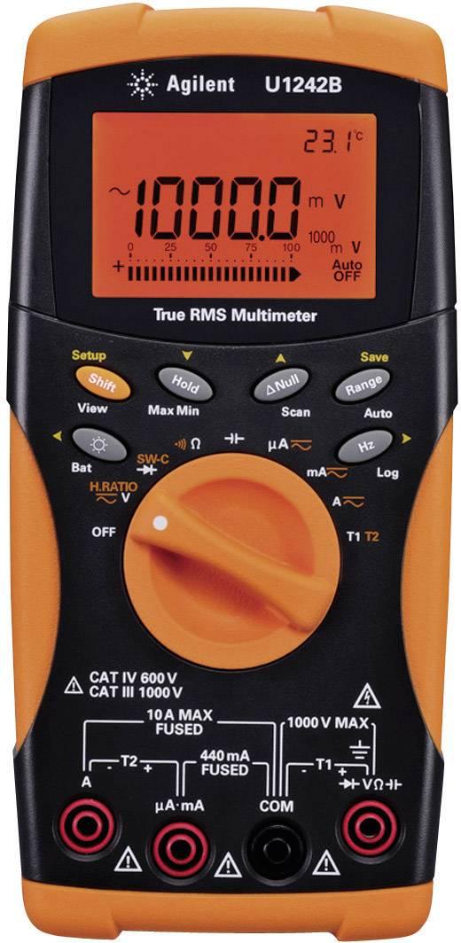 Digitálne/y ručný multimeter Keysight Technologies U1242B U1242B OPT ABD, datalogger