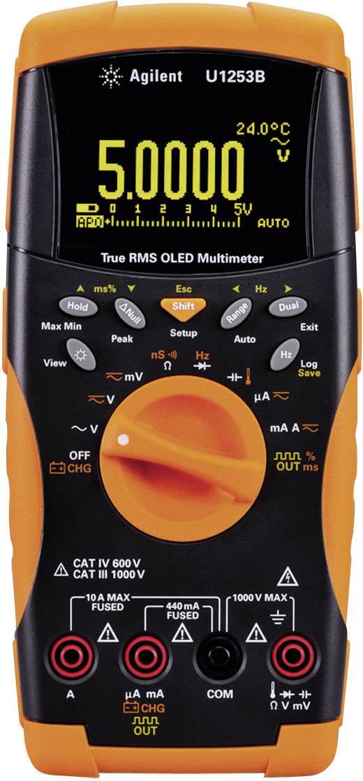 Digitálne/y ručný multimeter Keysight Technologies U1253B U1253B OPT ABD + 902, datalogger, OLED displej