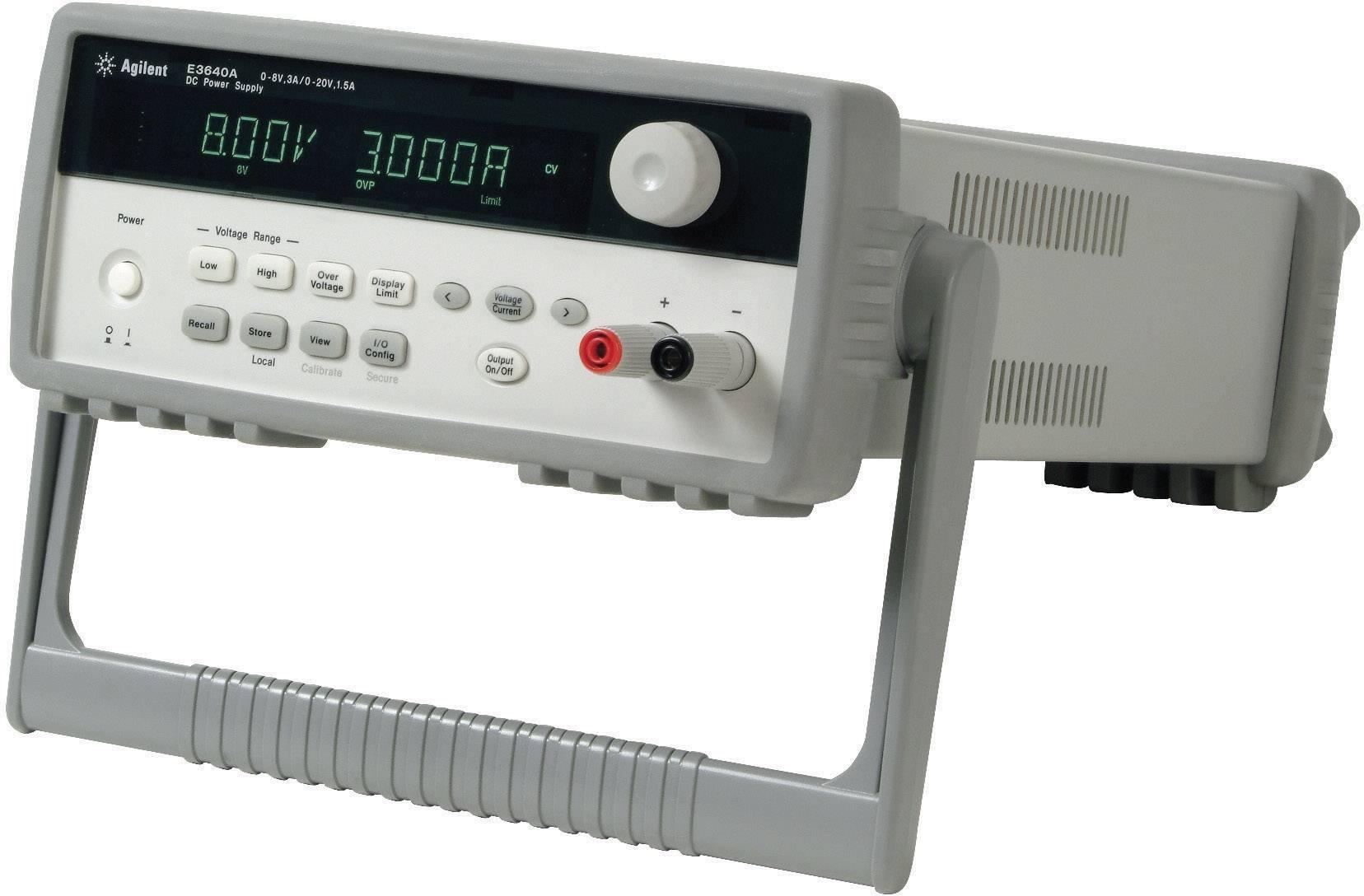 Laboratórny sieťový zdroj Keysight Technologies E3645A, 0 - 35 V/DC, 0 - 2 A, 80 W, 2x výstup
