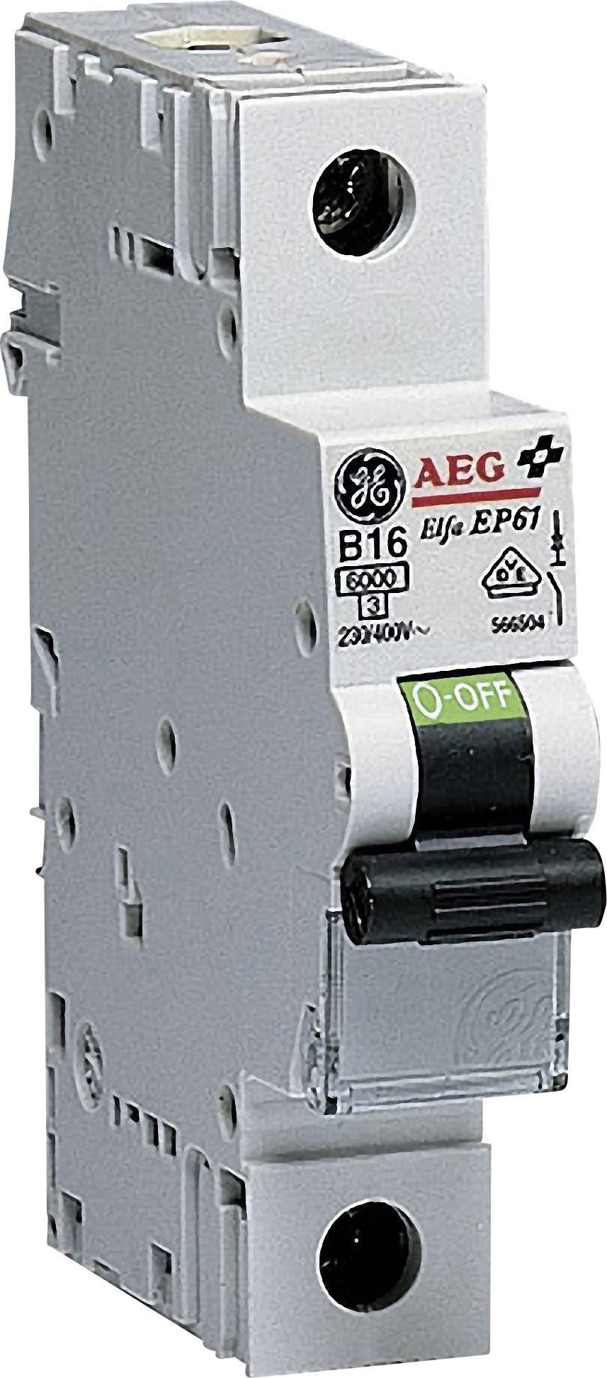 Elektrický jistič General Electric 566504, 1pólový, 16 A