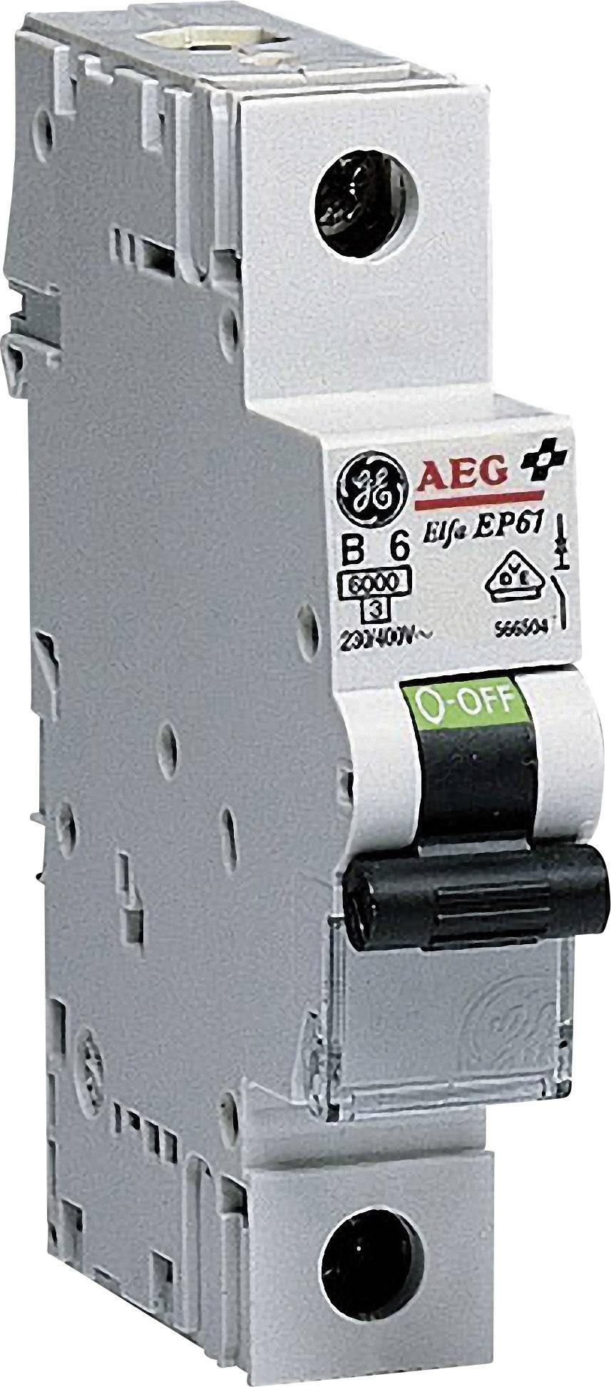Elektrický jistič General Electric 566501, 1pólový, 6 A