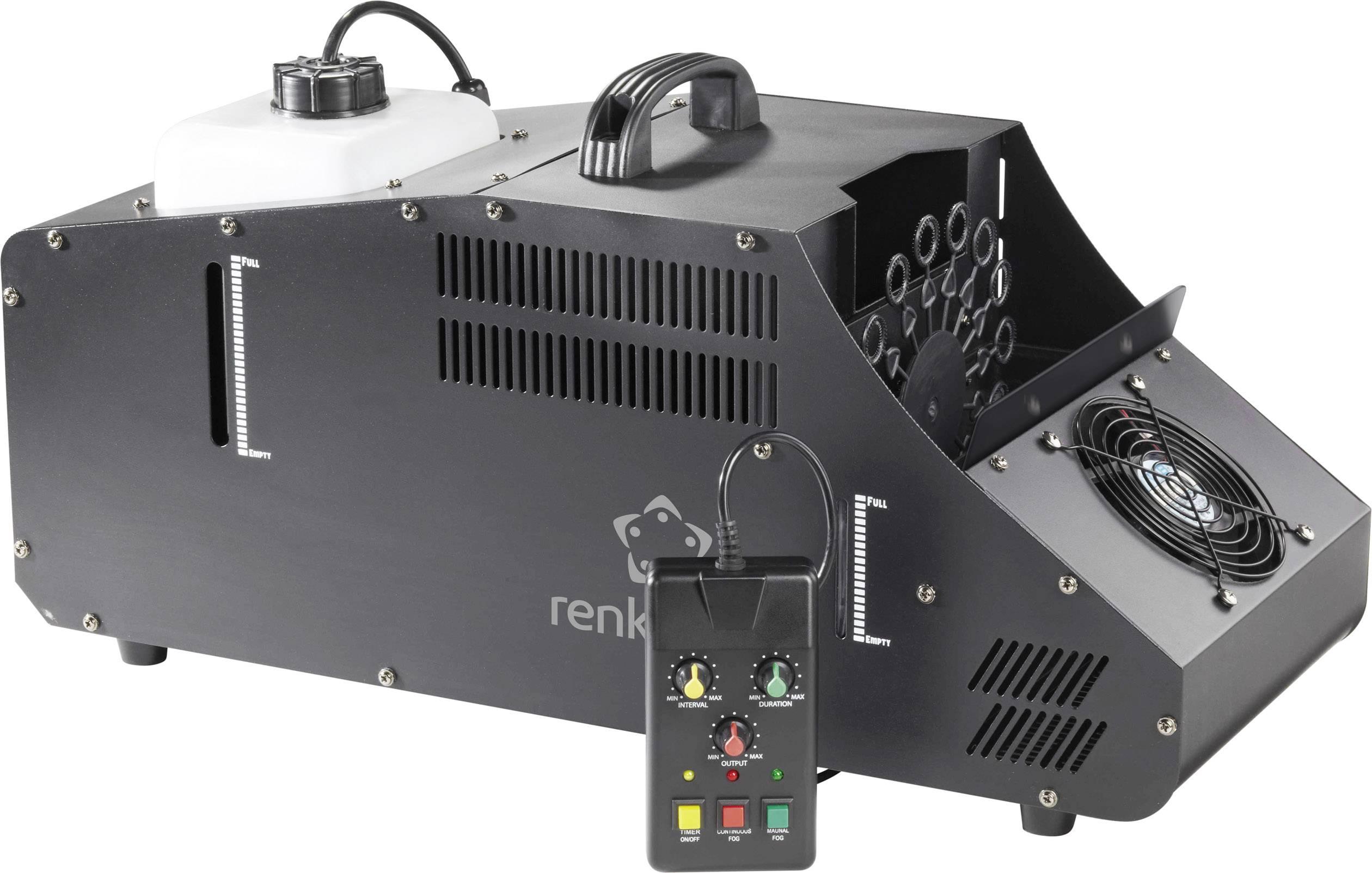 Výrobník mlhy a bublin Renkforce LV-BH 400