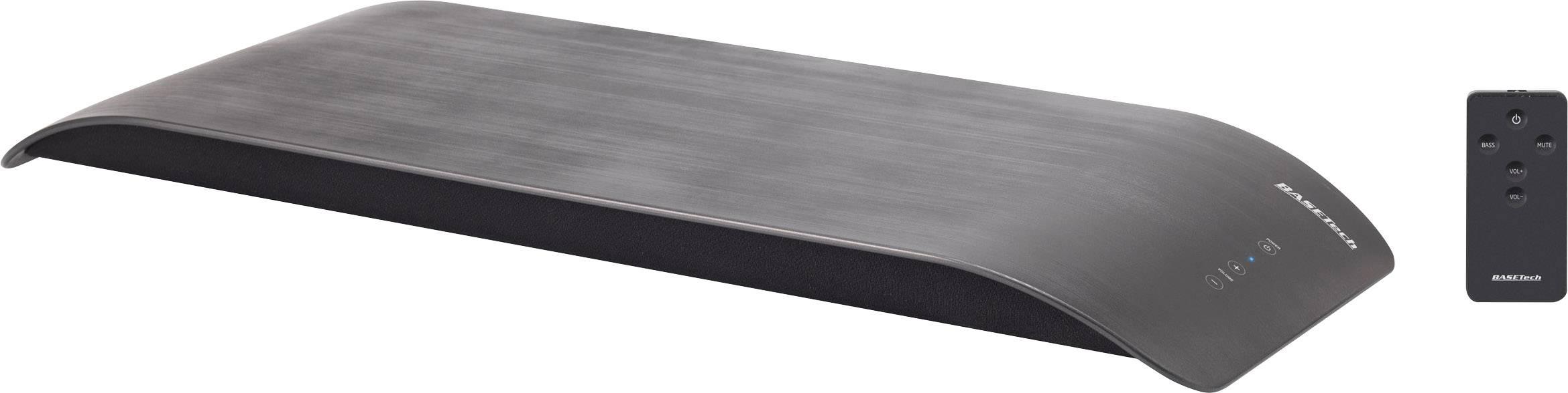 Ultraplochý Soundbase pod TV alebo PC Basetech SB32 čierna