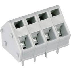 Pružinová svorkovnice DECA MPX110-50004 1282832, 4.00 mm², Pólů 4, šedá, 1 ks