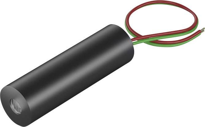 Laserový modul lineární červená 4 mW Picotronic LI650-4-3(8x26)30DEG-F100