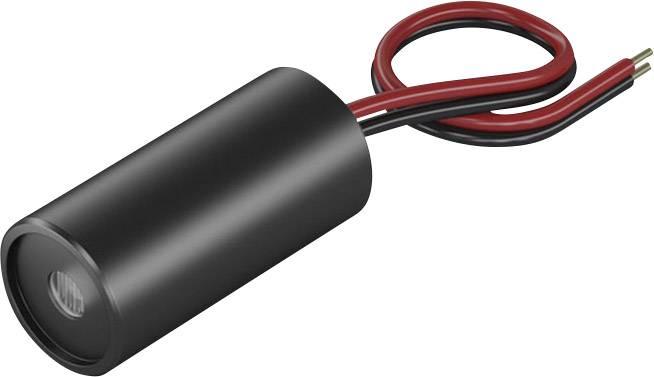 Laserový modul bodová červená 1 mW Picotronic DBI650-1-3-FA(12x40)-F3400