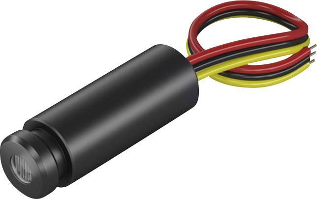 Laserový modul bodová červená 1 mW Picotronic
