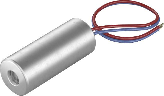 Laserový modul bodová červená 0.4 mW Picotronic DI650-0.4-3(5x12)