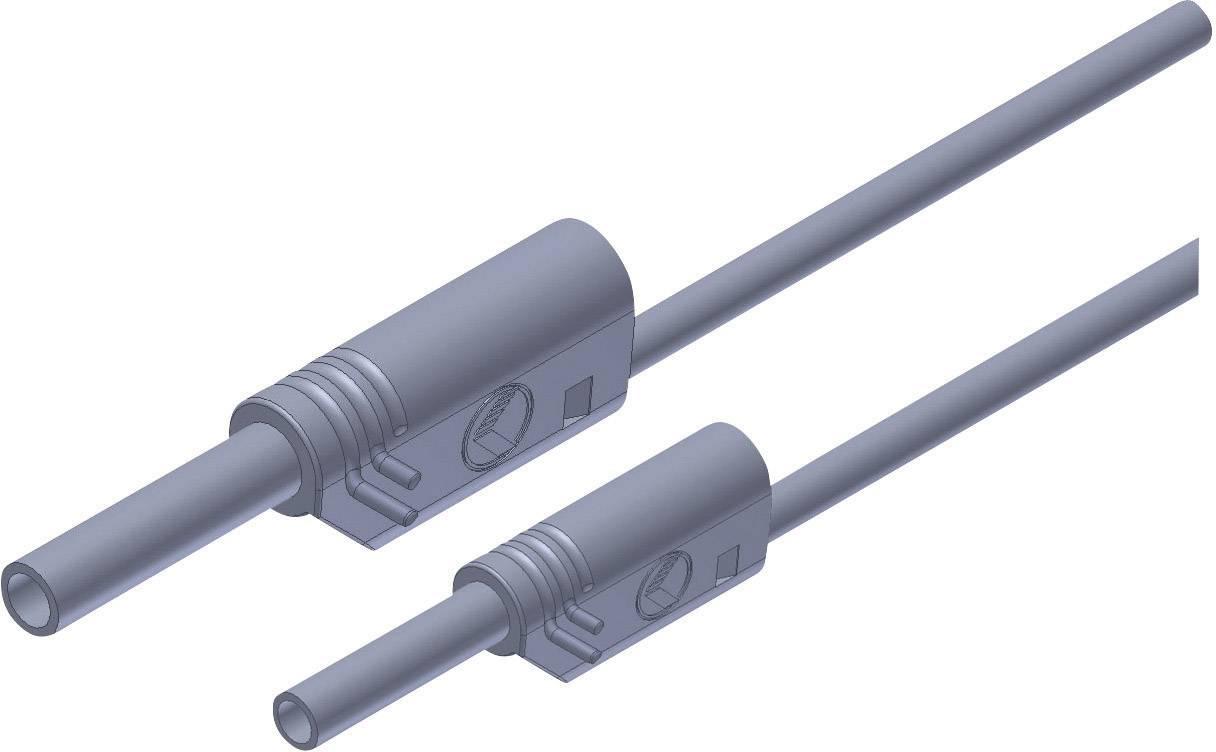 Merací kábel Hirschmann MAL S WS 2-4 100/1 mm², 4 mm, sivý