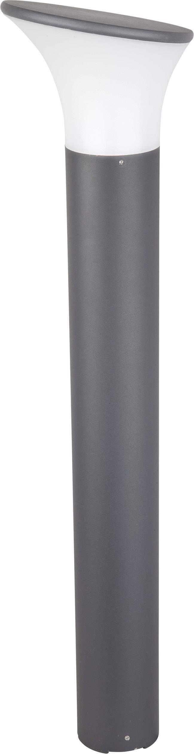 Úsporná žiarovka vonkajšiestojanovéosvetlenie Renkforce Rivoli 1283501, E27, 46 W, závisí na druhu žiarovky, tmavosivá