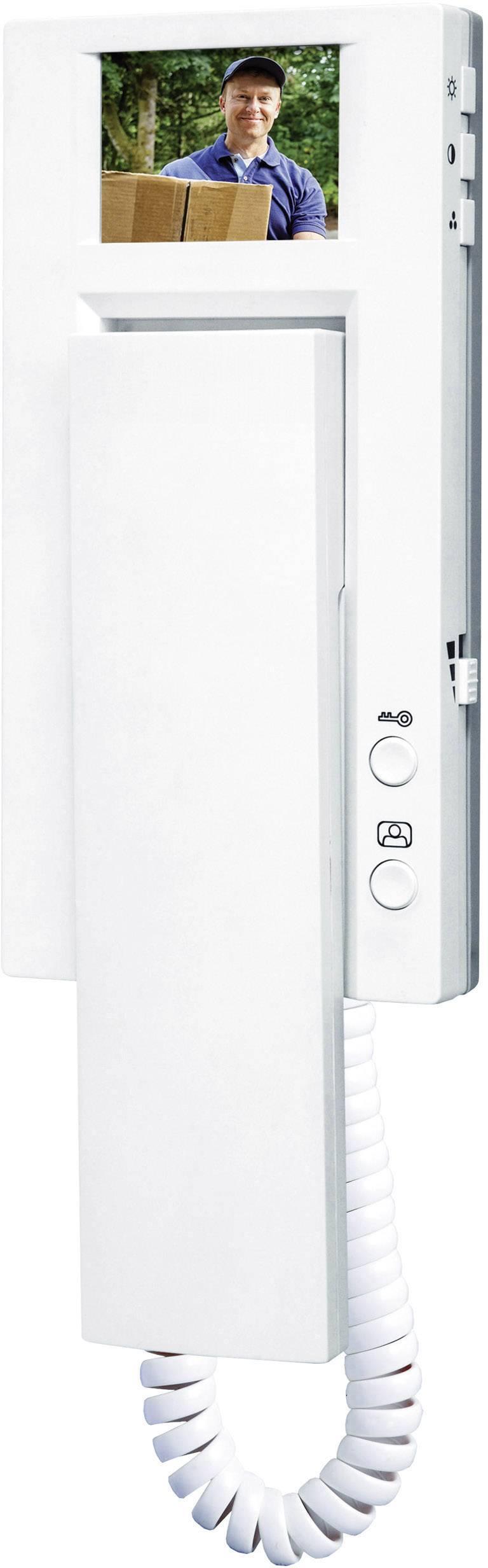Kabelový domovní video telefon Smartwares VD60 SW VD60 SW, bílá