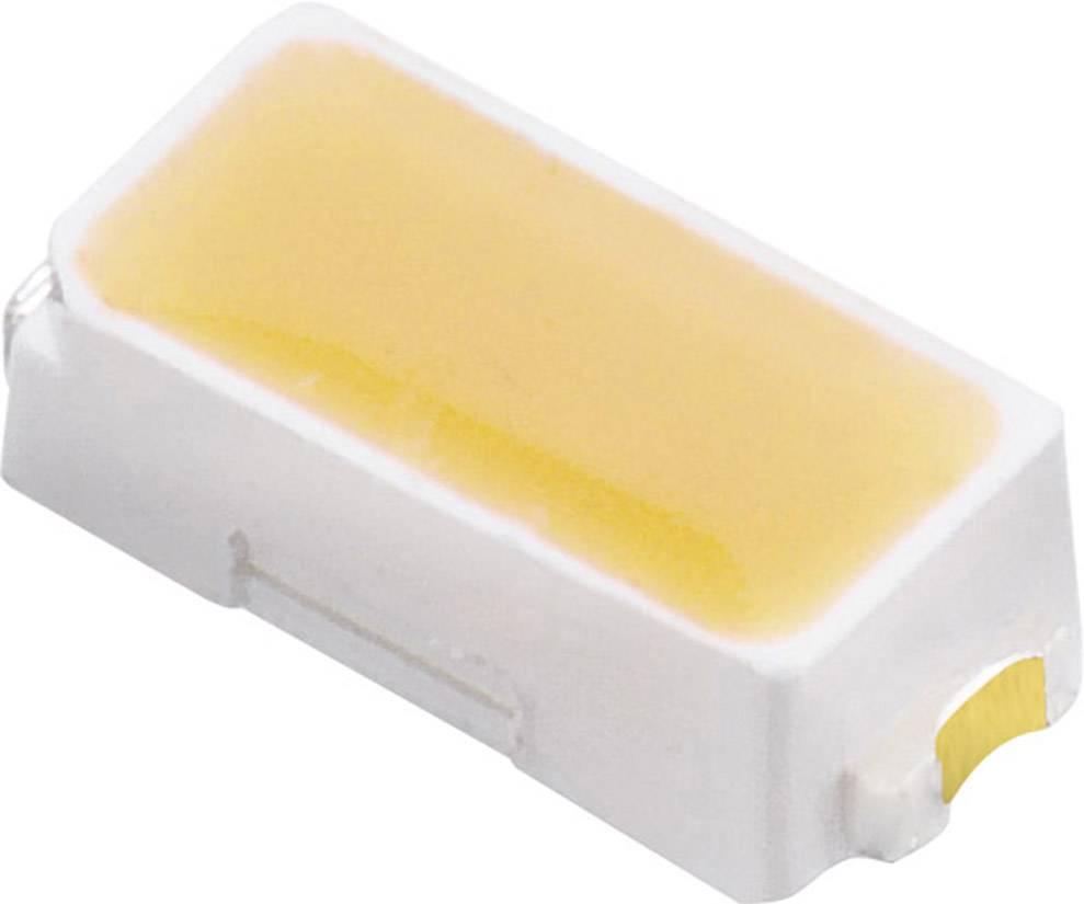 SMDLED Würth Elektronik 158301230, 120 °, 3.2 V, teplá biela