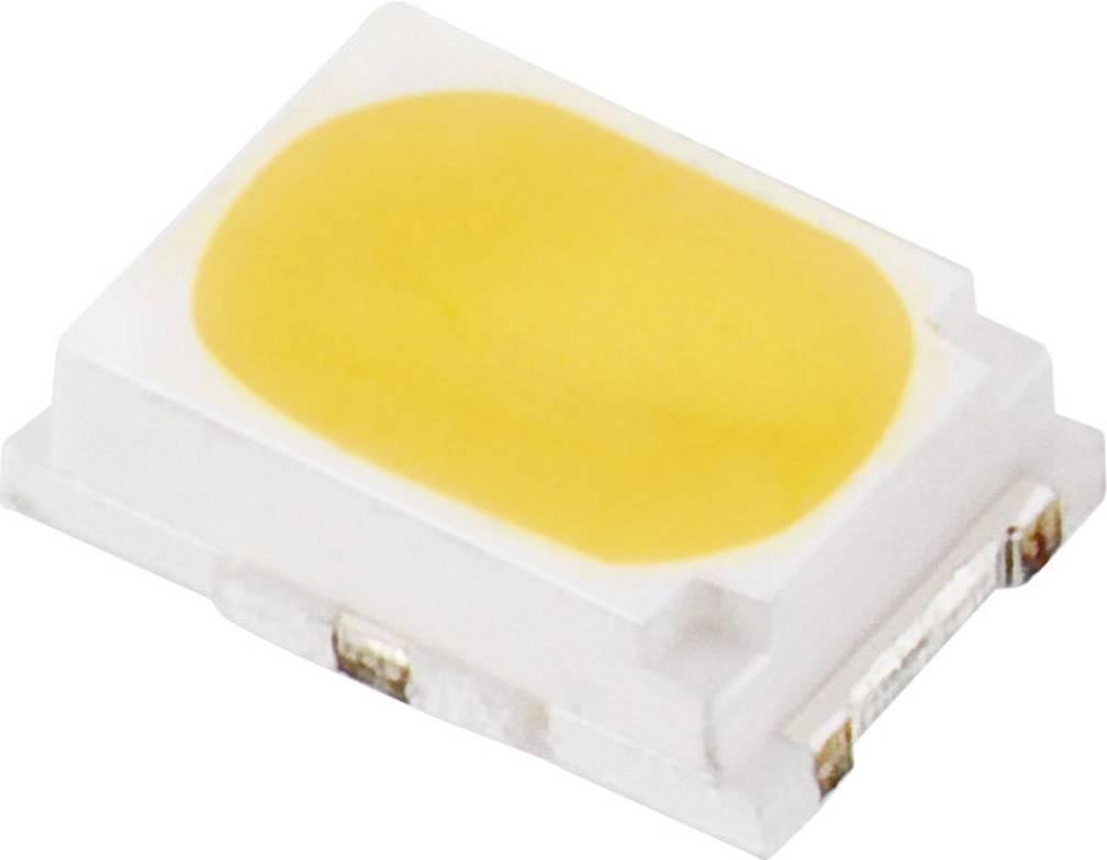 SMDLED Würth Elektronik 158302230, 120 °, 3.2 V, teplá biela