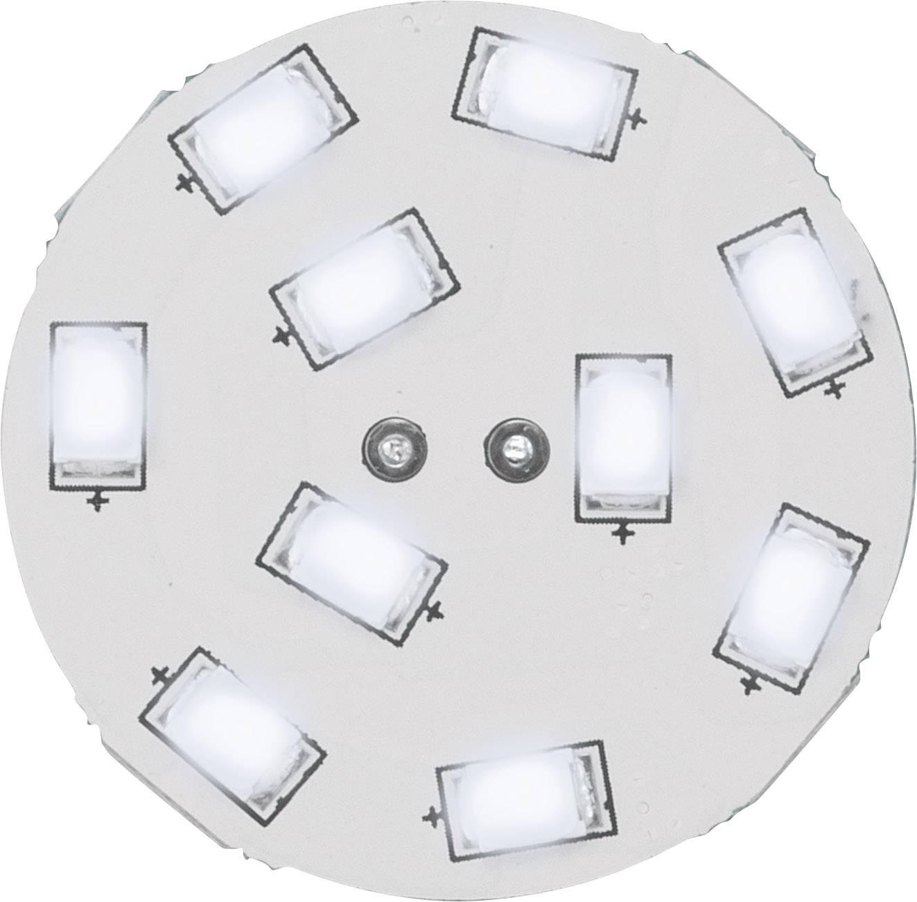 LED žiarovka RENKFORCE 12 V, G4, 16.75 mm, 1.5 W = 15 W, studená biela
