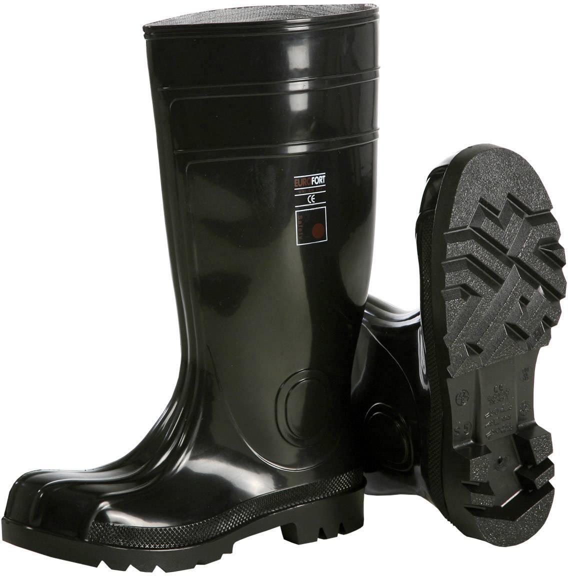 Bezpečnostní obuv S5 L+D Black Safety 2491, vel.: 45, černá, 1 pár