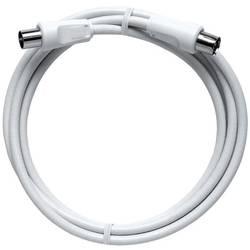 Antény kabel Axing BAK 125-90, 85 dB, 1.25 m, bílá