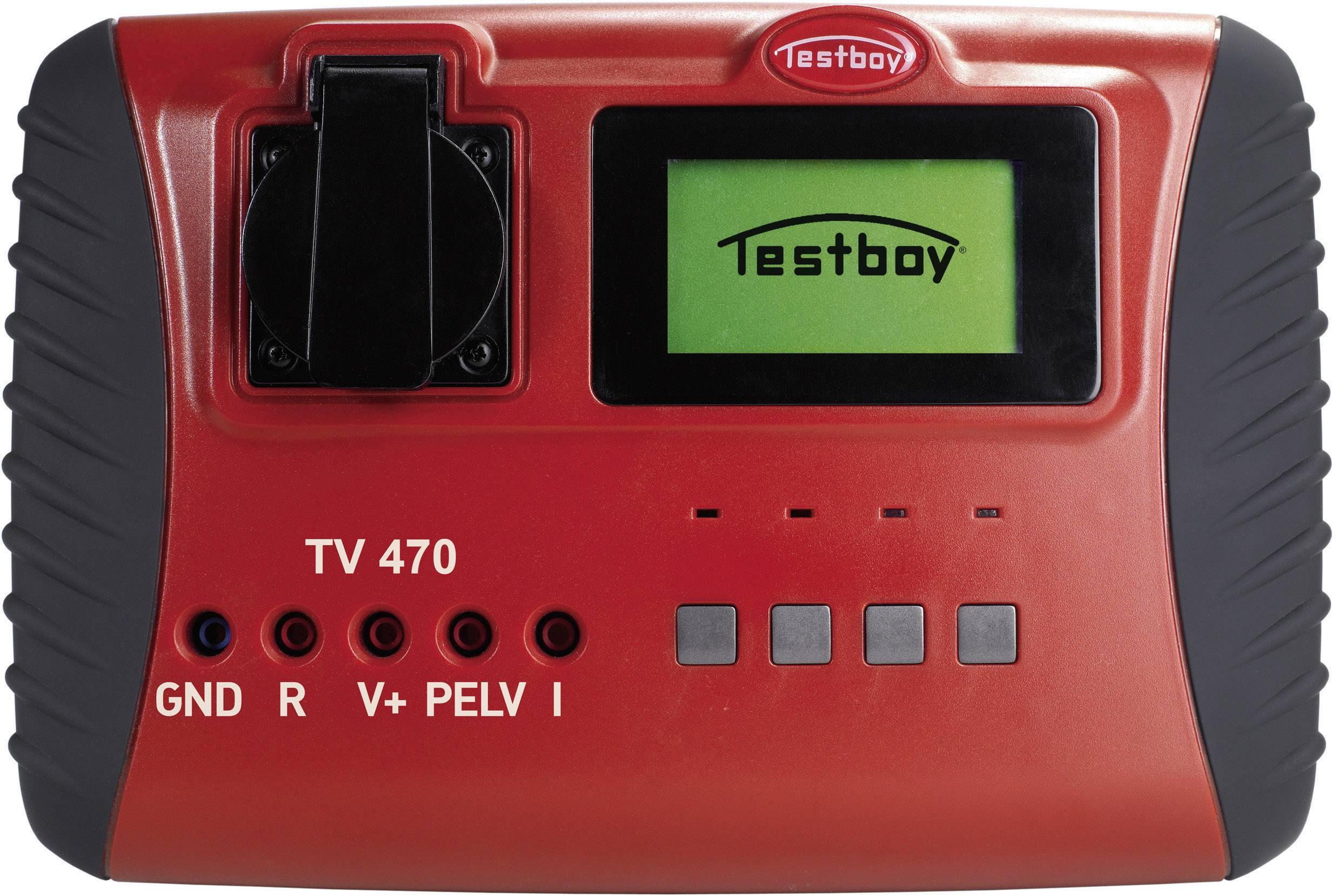 Testboy TV 470 kalibrácia podľa DAkkS