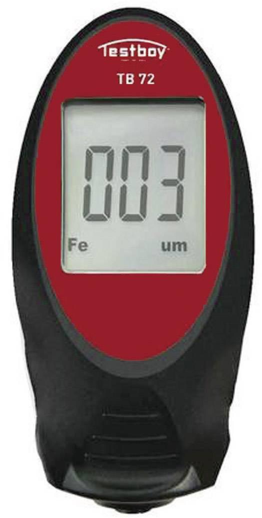Měřič tloušťky laku Testboy 72, kalibrováno dle ISO