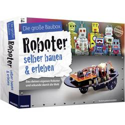 Výuková sada Franzis Verlag Roboter selber bauen & erleben 65267, od 8 let