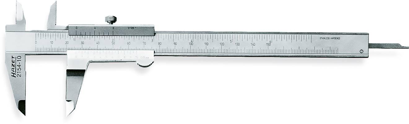 Posuvný hloubkoměr Hazet 2154-10, měřicí rozsah 150 mm, Kalibrováno dle podnikový standard (bez certifikátu) (own)
