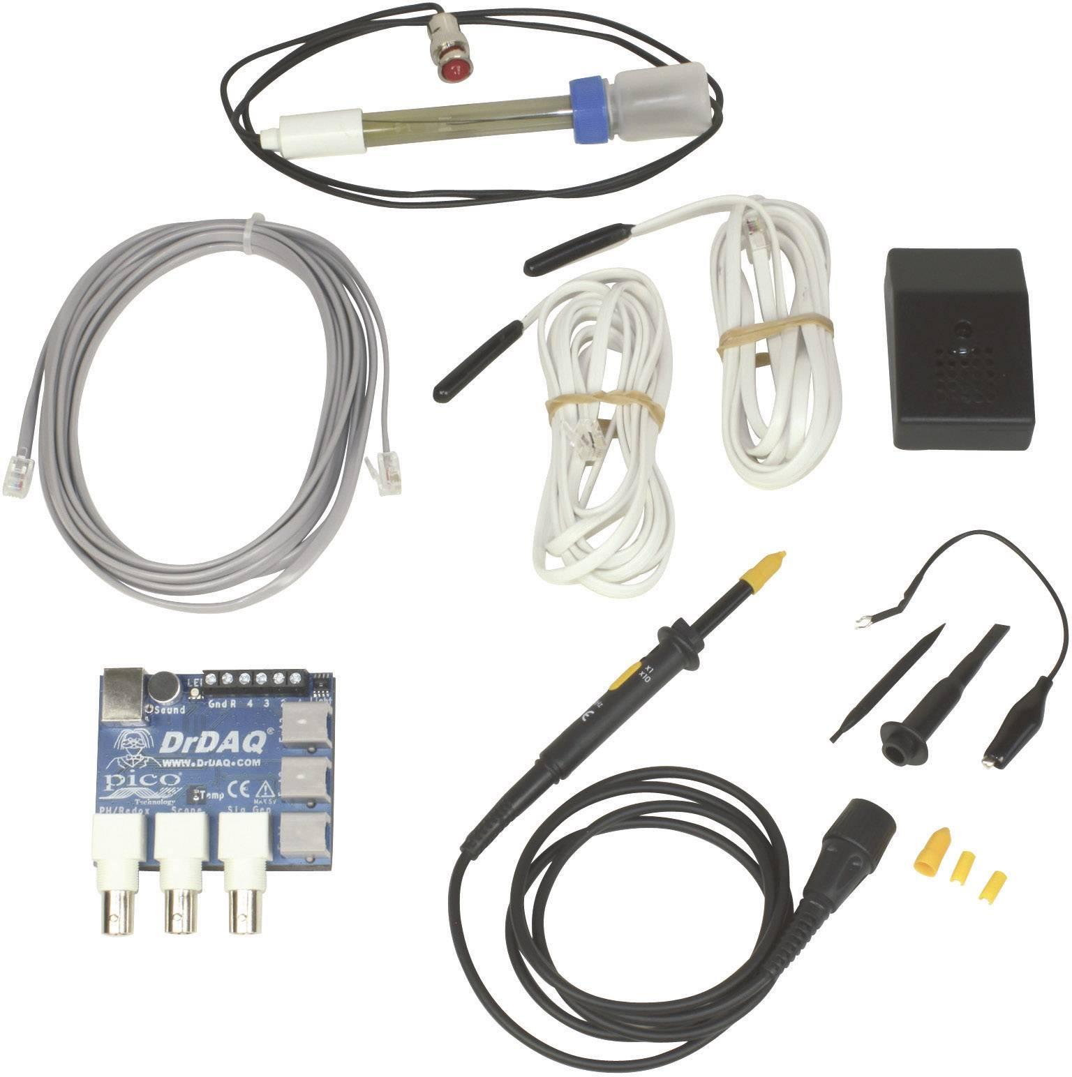 Modul USB so záznamníkom nameraných hodnôt a s funkciou osciloskopu pico DrDAQR