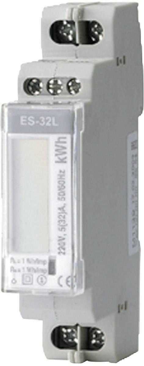 Jednofázový elektromer digitálne/y ENTES ES-32L 101512, 32 A