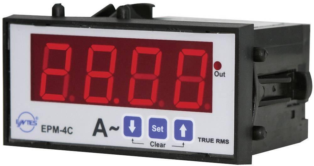 Panelový programovateľný ampérmeter ENTES, EPM-4C-48, 50 mA - 10 kA