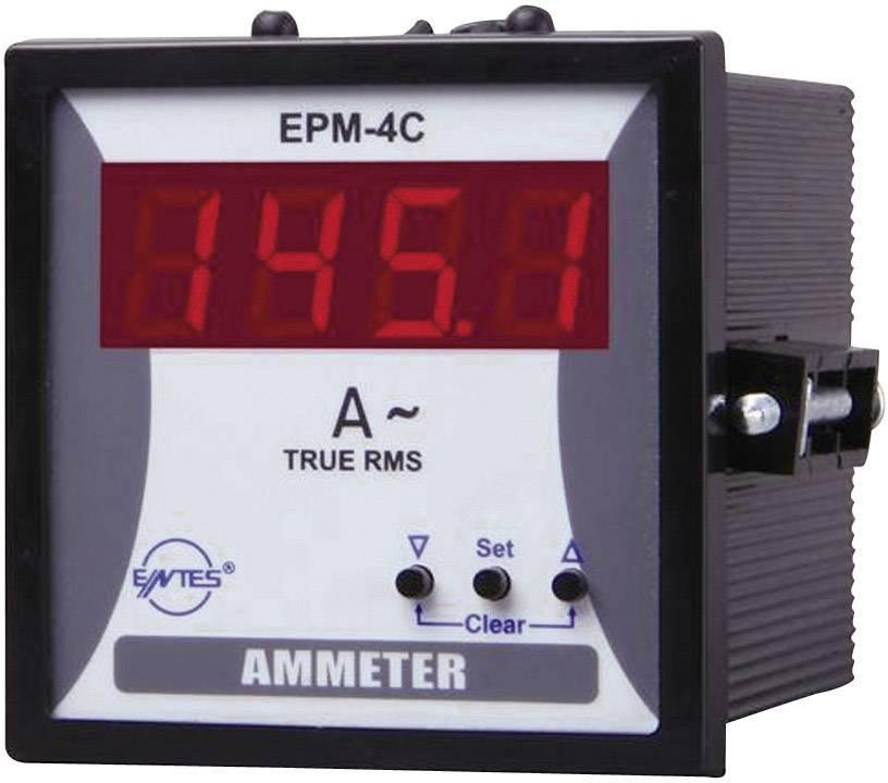 Panelový programovateľný ampérmeter ENTES, EPM-4C-72, 50 mA - 10 kA