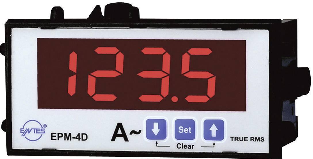Panelový programovateľný ampérmeter ENTES, EPM-4D-48, 50 mA - 10 kA
