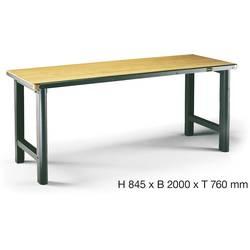 Pracovní stůl Hazet 130-1, rozměry:(d x š x v) 760 x 2000 x 845 mm