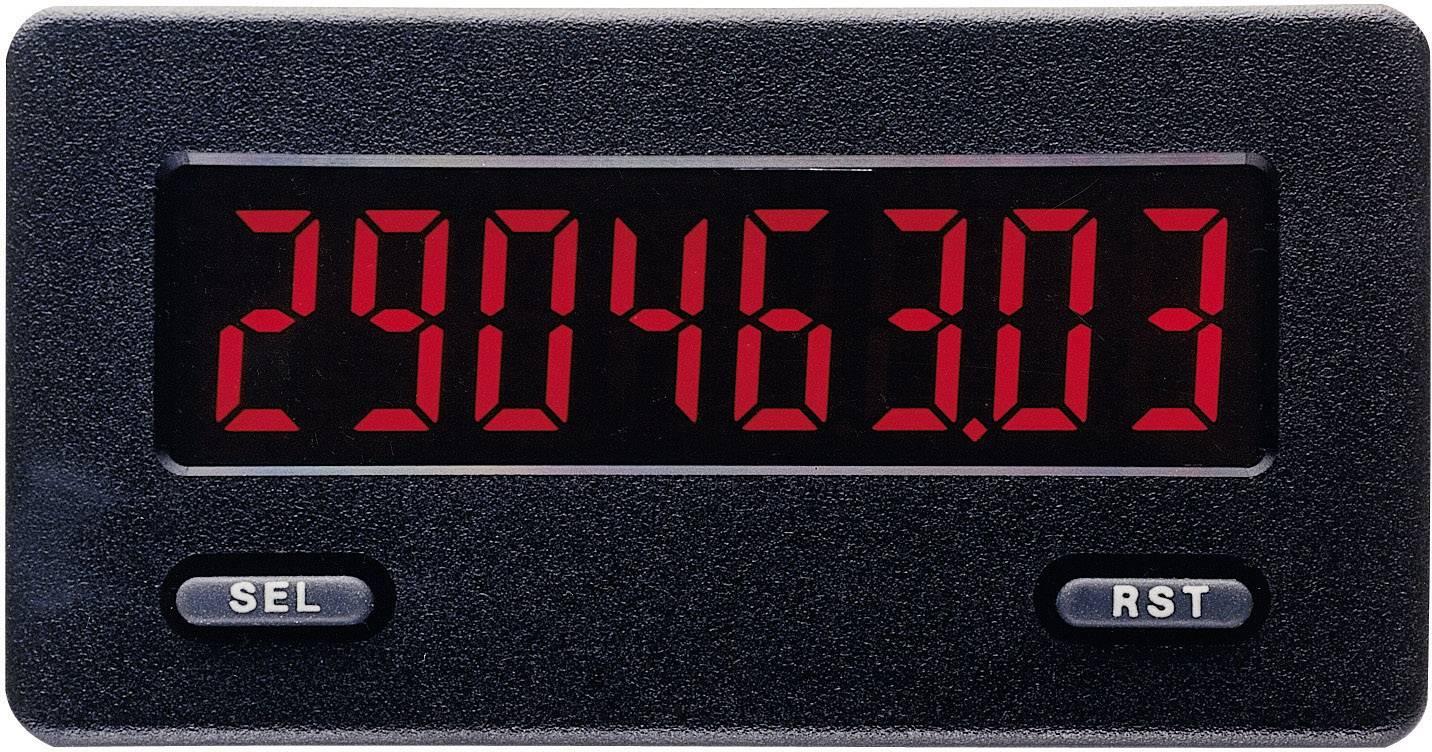 Zabudovateľný čítač/tachometer Wachendorff CUB5 R/G DIN, 68 x 33 mm