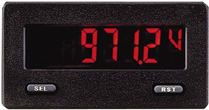 Zabudovateľný voltmeter Wachendorff CUB5V R/G DIN, 68 x 33 mm