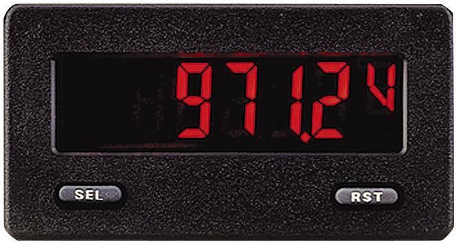 Zabudovateľný ampérmeter/voltmeter Wachendorff CUB5P DIN, 68 x 33 mm