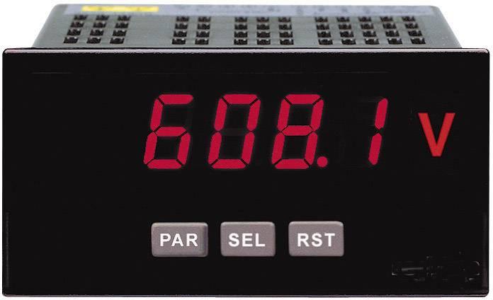 Zabudovateľný ampérmeter/voltmeter Wachendorff PAXLA DIN, 92 x 45 mm