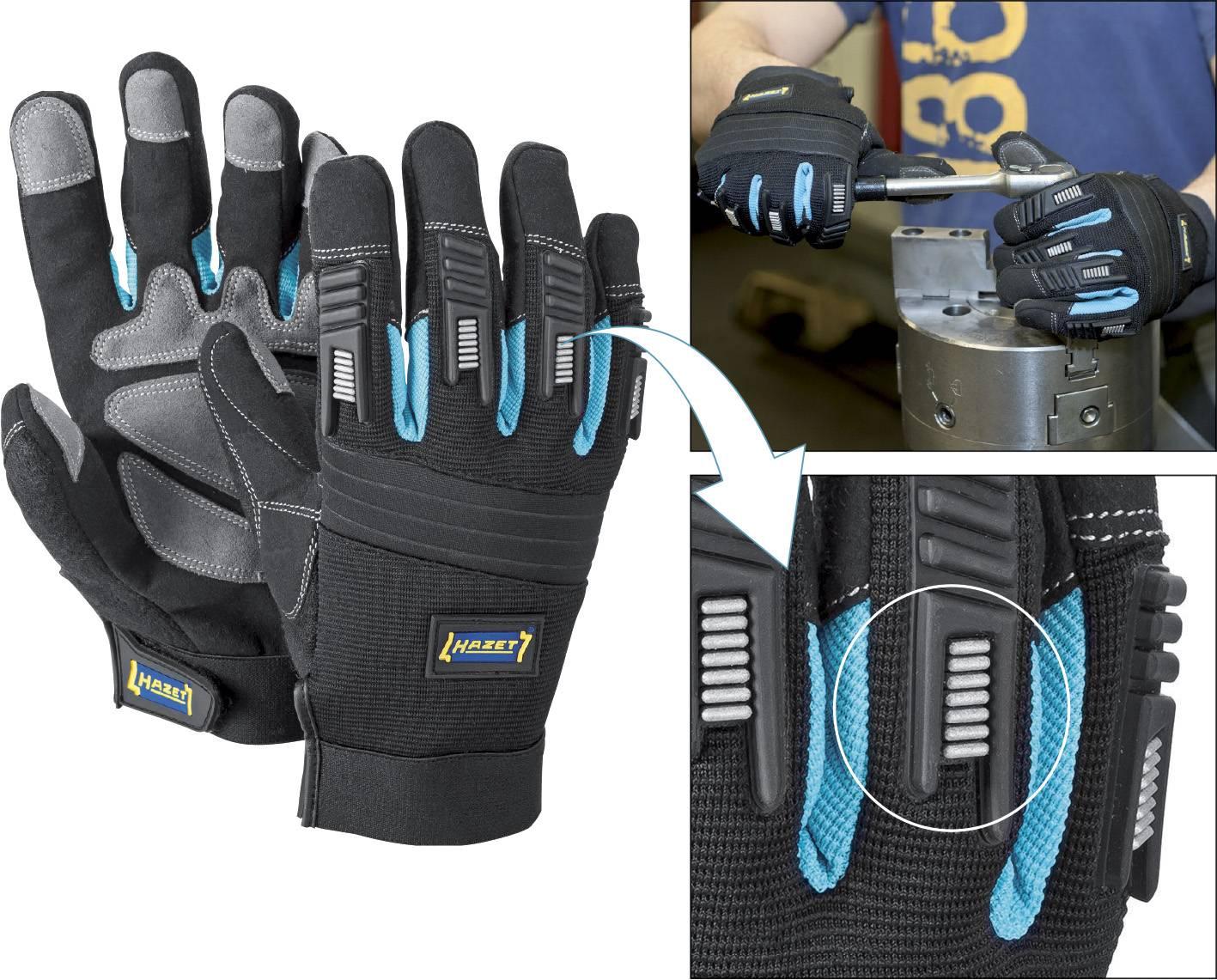 Odolné montážne rukavice pro mechanikov Hazet 1987-5XL, XL