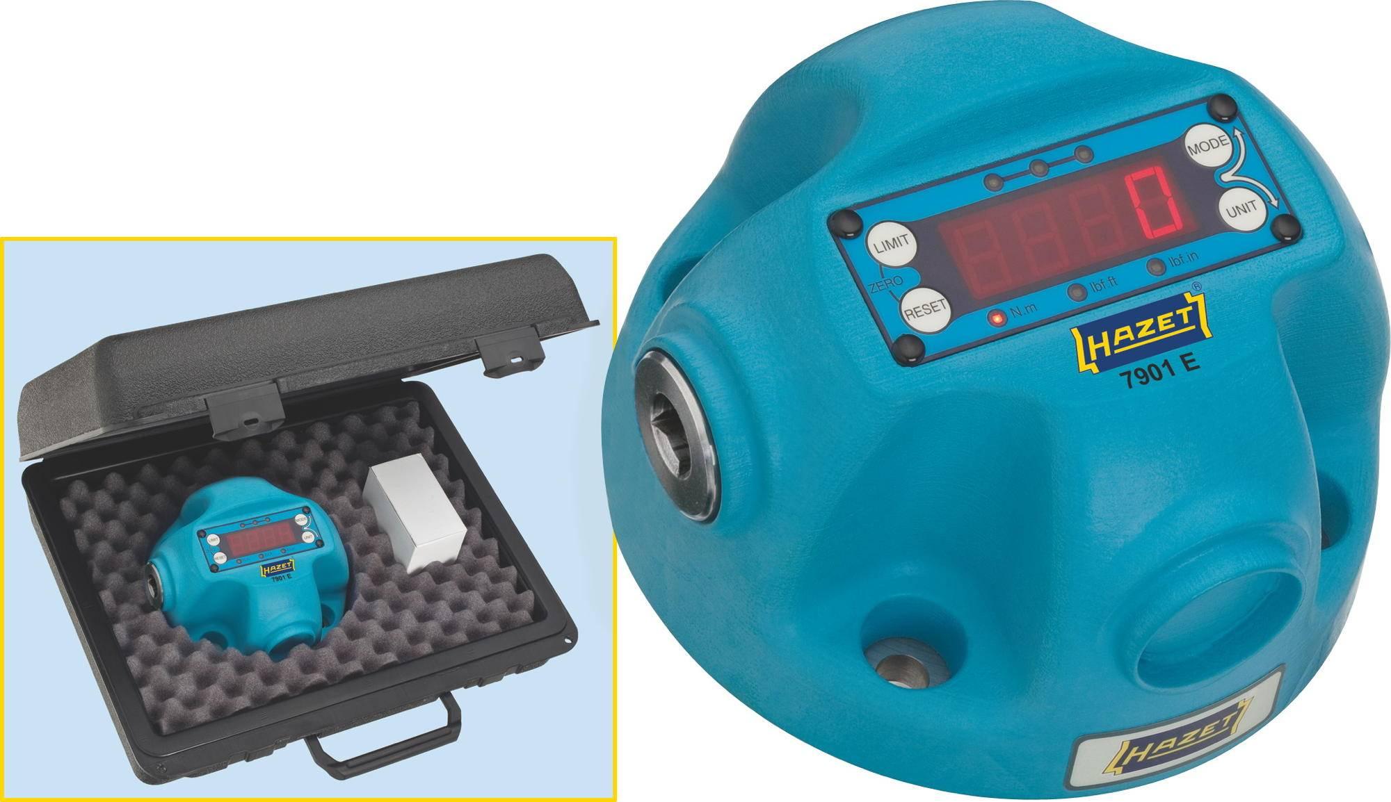 Digitální tester točivého momentu Hazet, 7901E, 10 - 350 Nm