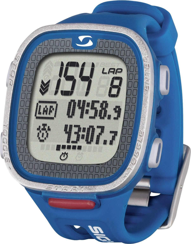 Hodinky s měřením tepové frekvence a s hrudním pásem Sigma PC 26.14 blue
