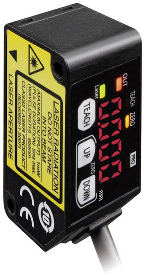 Laserový senzor pro měření vzdálenosti Panasonic HG-C1030