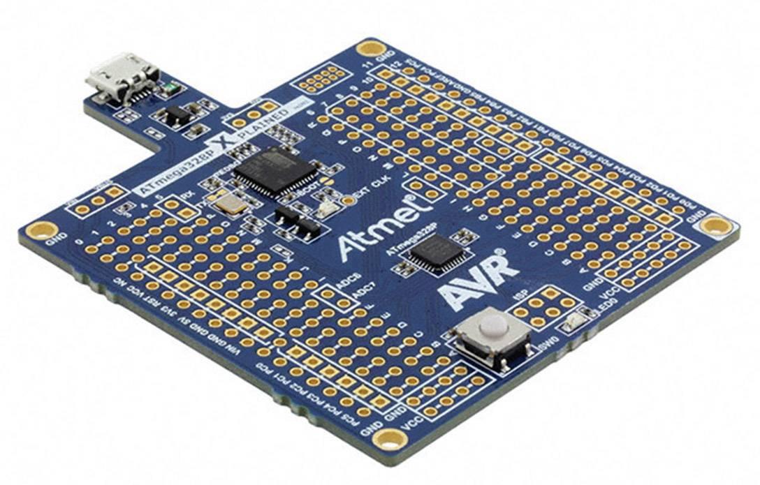 Vývojová deska Atmel MEGA328P-XMINI