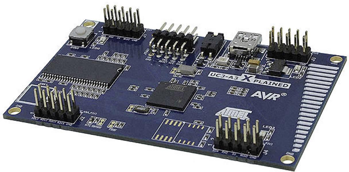 Vývojová deska Atmel AT32UC3A3-XPLD