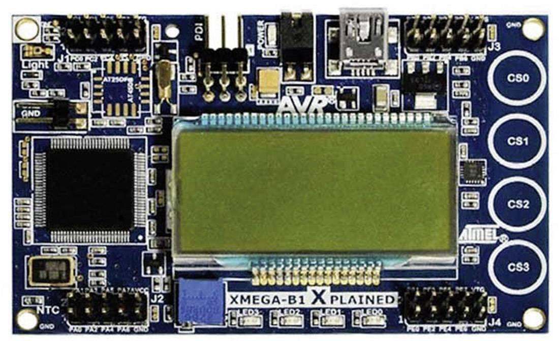 Vývojová deska Atmel ATXMEGAB1-XPLD